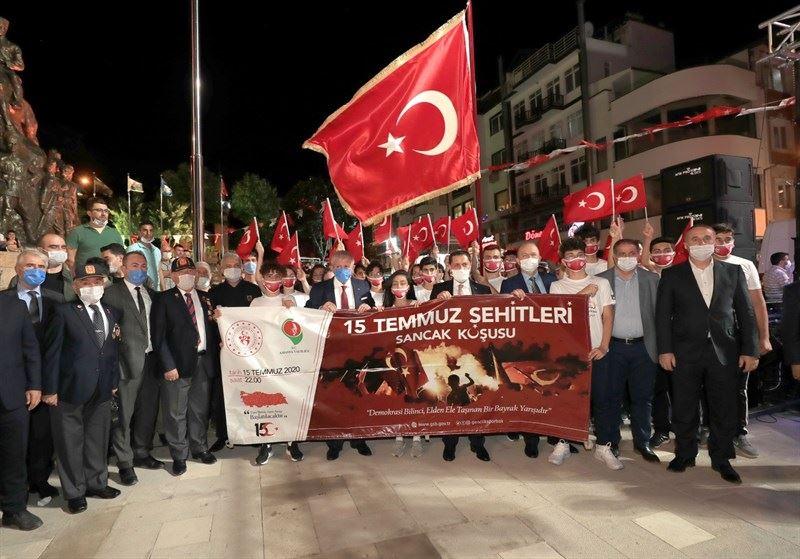 15 Temmuz Demokrasi ve Milli Birlik Günü Anma Programı, Yavuz Selim Meydanı'nda gerçekleştirildi.